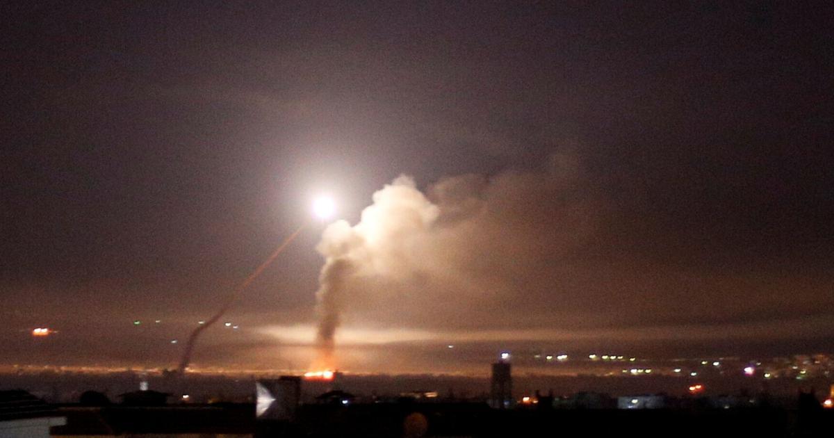 Sirijci tvrde da je Damask bombardiran iz smjera Izraela