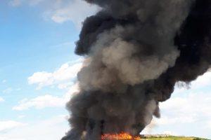 Gori deponij kod Čakovca: Dim i pepeo posvuda, ulazi i u kuće