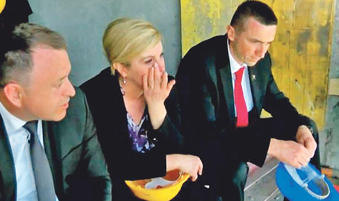 ANTE TOMIĆ O SUZAMA HRVATSKE PREDSJEDNICE Zašto je plakala? Što je nju, jadnu, slomilo? Ridala je na vječnu temu...