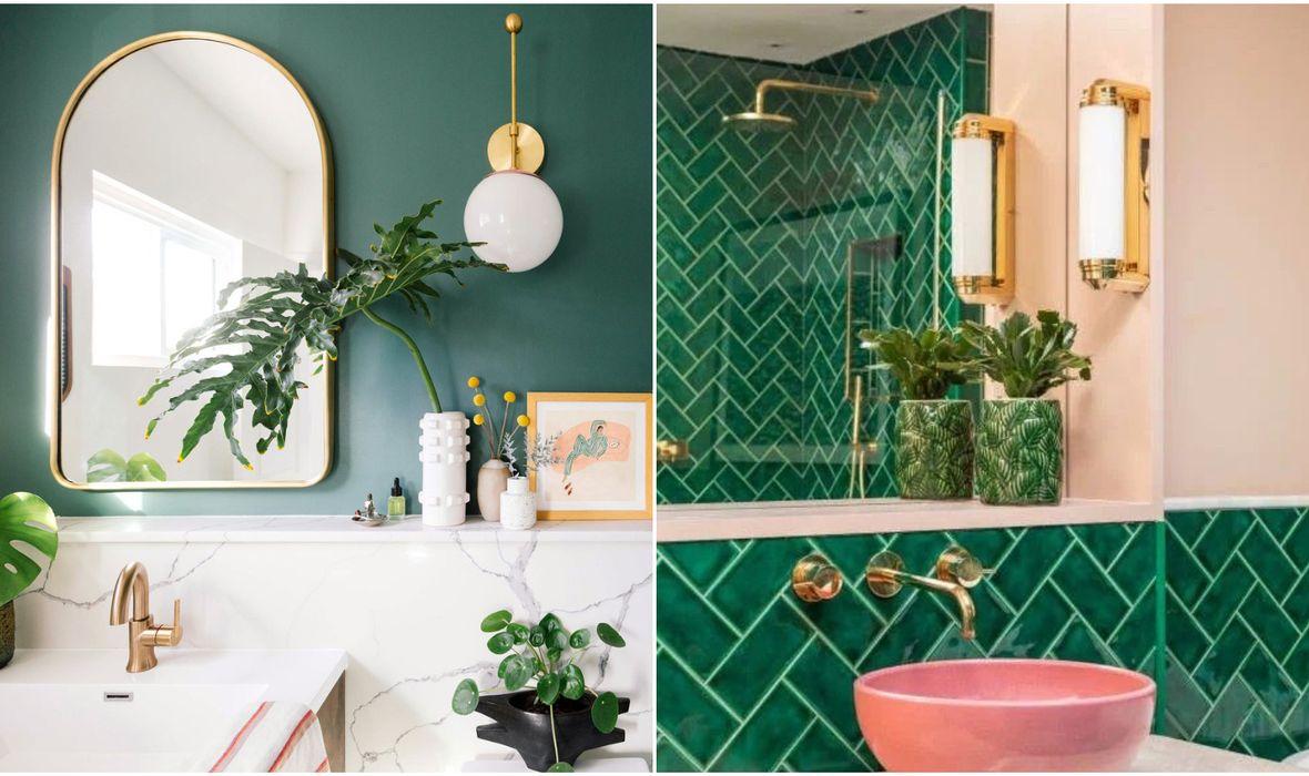 Zelena boja u kupaonici - najljepše ideje s kojima nećete pogriješiti