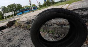 Zbog Dinama su opet zapalili nekoliko guma u Zagrebu