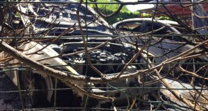 Noćni požar u Poreču: Izgorjela dva automobila u centru grada