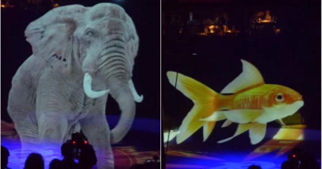Njemački cirkus koristi holograme umjesto životinja!