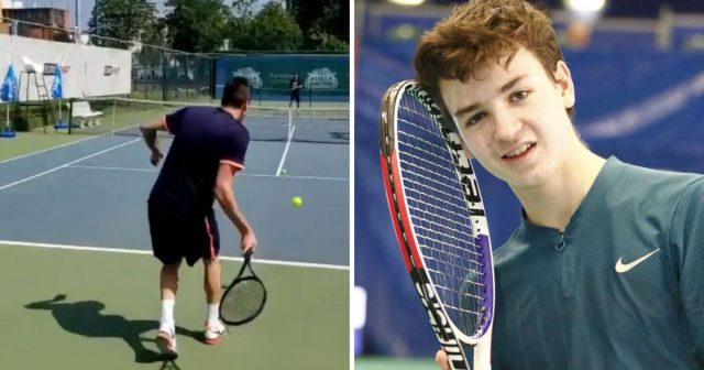 Gem Set Hrvatska: Dječak Patrik Jurina (14) igrat će tenis u paru s Marijem Mandžukićem