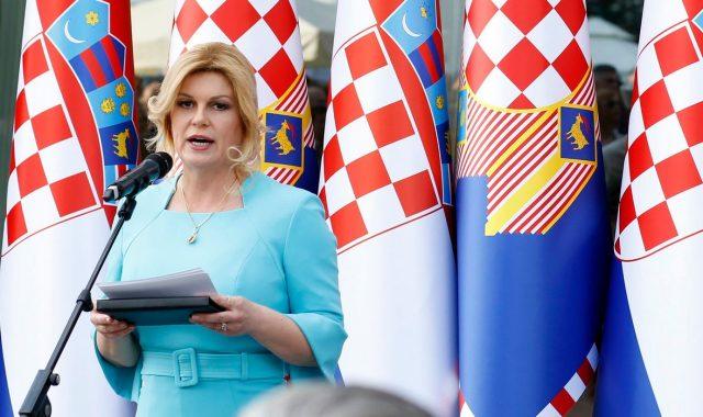 PREDSJEDNICA O KANDIDATURI ZA NOVI MANDAT 'Kako god moj život bude išao, mirovinu ću provesti u Hrvatskoj'