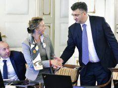 VELIKA ČAST I ODGOVORNOST, ALI I BASNOSLOVNA PLAĆA Hrvatska ministrica do prošlog tjedna nije bila u ulozi favorita, ali onda se sve promijenilo
