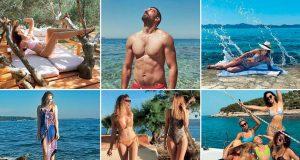 VELIKI FOTOIZVJEŠTAJ S MORA: PRVI DANI ODMORA NAŠIH SPORTAŠA, GLUMACA, PJEVAČA I TV LICA Luksuzne jahte, inozemni resorti, jadranske plaže na osami...