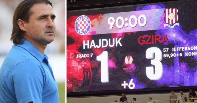 Trener Gzire o pobjedi nad Hajdukom: 'Vidio sam da ste nas podcijenili, ne ide to tako'