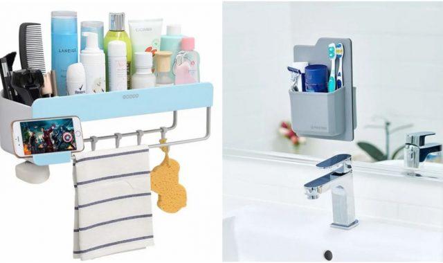 Jeftine i praktične stvari za organizaciju stvari u maloj kupaonici
