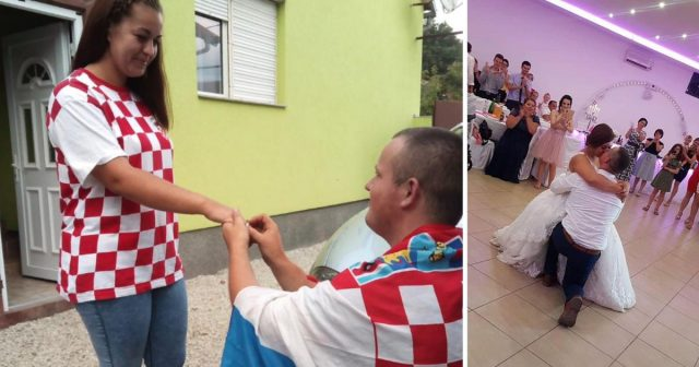 Vatreni ušli u finale, a oni su se zaručili: Danas su muž i žena