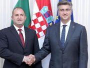 Plenković i Radev zauzeli se za snažniju gospodarsku suradnju