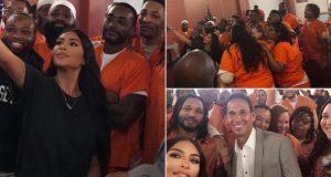 Kim pozirala sa zatvorenicima: Bravo, to je tvoja životna svrha