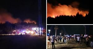 Planulo Zrće! Evakuirali klub Kalypso zbog velikog požara