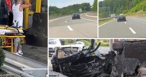 Policija je uhitila vozača (35) koji se BMW-om zabio u Škodu