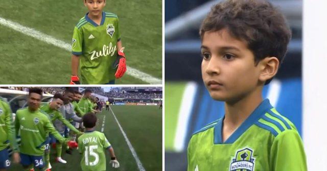 Seattle Soundersi omogućili oboljelom dječaku da brani za njihov klub u prijateljskoj utakmici