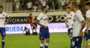 Niti jedan Hajdukov igrač pa ni kapetan nije stao dati izjavu...