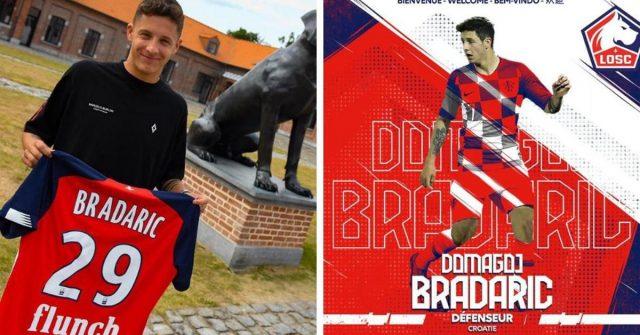 Domagoj Bradarić potpisao za Lille