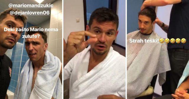 Vrsaljko otkrio avanturu: Kako su ih Rusi ošišali na 'tutu'...