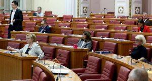 Sabor u petak glasuje o novim ministrima