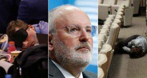 BESANA NOĆ U BRUXELLESU Merkel, Macron i Tusk cijelu noć pokušavali su progurati svojeg kandidata začelo Komisije, ali su ga Pučani srušili