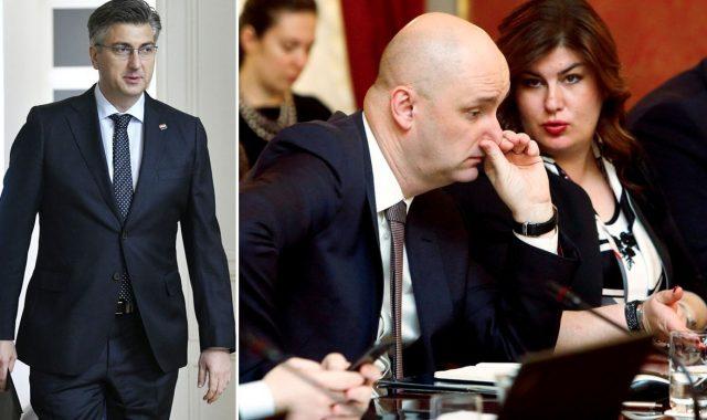 SVE JE ZAPELO NA TOLUŠIĆU Ministar Plenkoviću poručio: 'Ako smijeniš mene, moraš i Žalac, Pavića, Murganić, Kujundžića, ali i Kalmetu u HDZ-u!