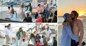 Heidi Klum stigla na Capri gdje će se sutra udati za gitarista