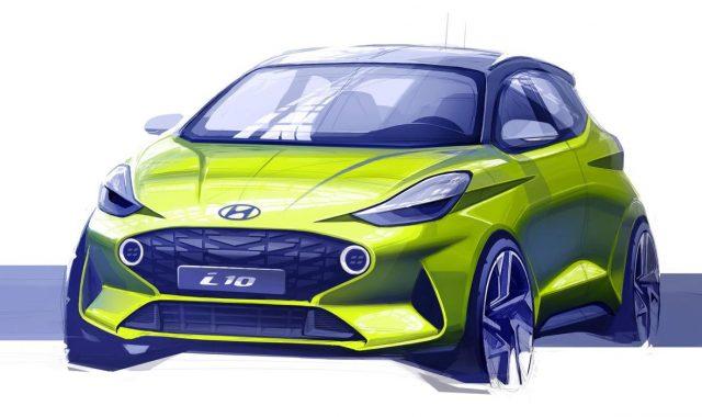 PRVA SKICA: Novi Hyundai i10 izgleda znatno agresivnije od prethodnika i donosi hrpu noviteta!