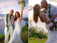 'The Rock' na Havajima oženio 13 godina mlađu: 'Uzimam te'