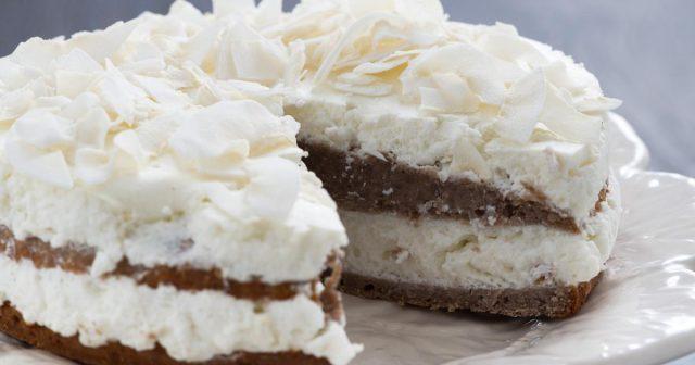 Čokoladna torta s kokosom, brzo gotova i neodoljiva