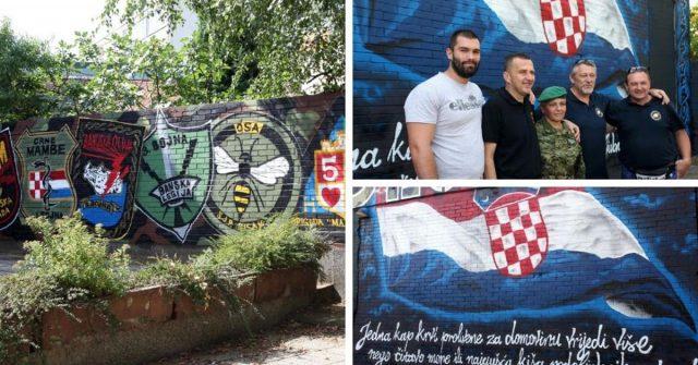 BBB u čast 24. obljetnice Oluje napravili su prekrasan mural