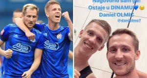Hajrović: Nagovorio sam ga! Daniel Olmić ostaje u Dinamu
