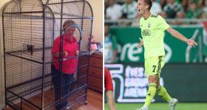 Portugalac zbog Olma 'zatočio' baku u kavezu