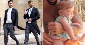 Ricky Martin je pokazao kćer Luciu: 'Svjetlost si mojih očiju'