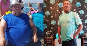 Smršavio 76 kg kako bi ispunio obećanje dano pokojnoj kćeri