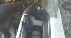 Snimka iz Istanbula: Pokretne stepenice 'progutale' mladića