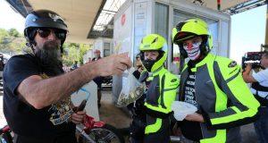 Za vikend 4000 motociklista će zatvoriti luke, naplatne kućice