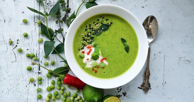Osvježavajuća juha od mente i graška za vruće ljetne dane!