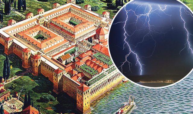 JEDAN OD NAJVEĆIH MISTERIJA JADRANA Da nije bilo jednog kobnog udara groma, nikada ne bi bilo Dioklecijanove palače, a možda ni Splita!