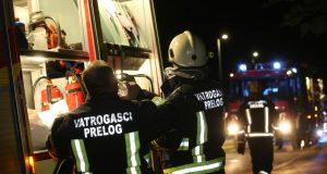 Gori stara tvornica u Prelogu: 'Jako sam tužna i preplašena'