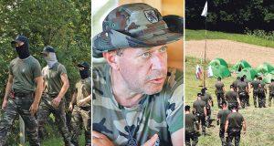 UZBUNA U SLOVENIJI: MASKIRANI ANITIMIGRANTI VJEŽBAJU NA 20 KILOMETARA OD HRVATSKE GRANICE Zovu se Štajerska straža, a vodi ih vojvoda Šiško