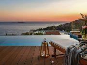 Vila s beskrajnim pogledom na morsku pučinu nedaleko od Dubrovnika