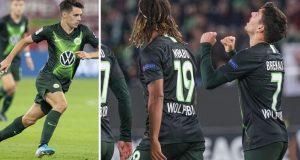 Europska liga: Josip Brekalo asistirao i zabio gol za pobjedu Wolfsburga protiv Oleksandrije