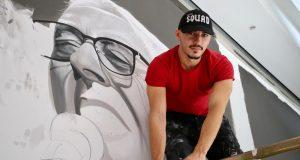 Oliverov mural u Splitu: Na dan radim osam sati bez prestanka