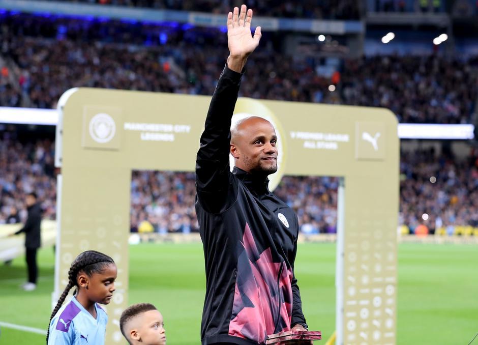 Vincent Kompany Testimonial - Manchester City Legends v Premier League All Stars XI - Etihad Stadium | Autor: Martin Rickett/Press Association/PIXSELL