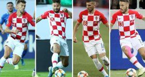 Četiri Dalmatinca u hrvatskoj reprezentaciji