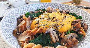 Neodoljivi umak od bundeve za tjesteninu s gljivama