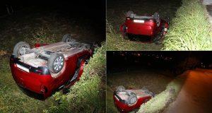 Nesreća u Splitu: Auto završio na krovu, jedna putnica mrtva