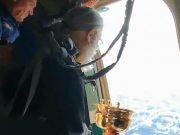 Svetom vodom škropili grad iz aviona da ga spase od alkohola