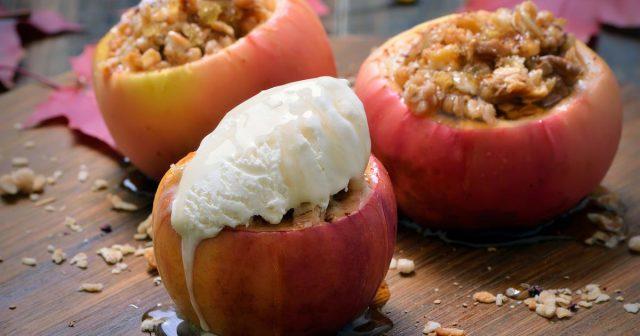 Ultimativni zdravi jesenski desert: Hrskave punjene pečene jabuke