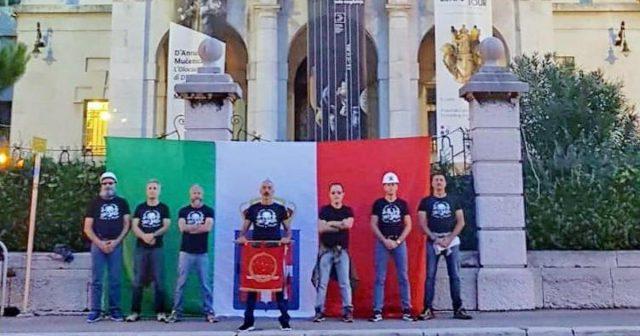U Rijeci slave Talijana koji ju je zauzeo: Pojavila se i zastava...